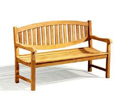 "Bali Furnishings in Tualatin Oregon prides itself on providing Quality Teak Furniture, Asian Pots and Home Furnishings at Affordable Prices Available in  5', and 6'.  $375. ""double oval"" benches."