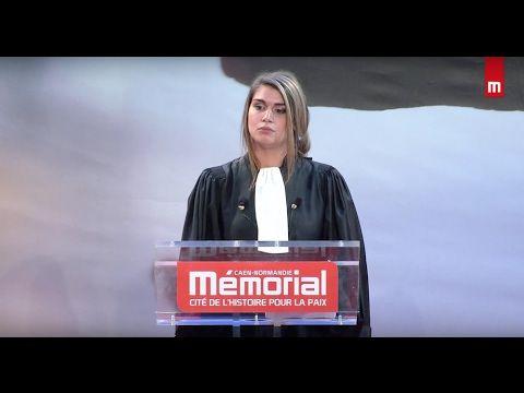 Maître Déborah Charlier - Concours de plaidoiries des avocats 2017 - YouTube