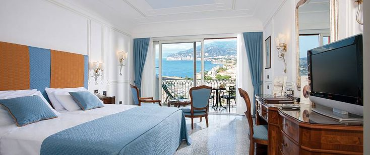 Grand Hotel Capodimonte is a luxury hotel positioned on the mountain dominating the town of Sorrento and the Gulf of Naples facing the Mediterranean sea.