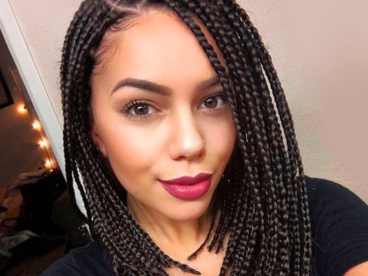 Fantastic 1000 Ideas About Single Braids Hairstyles On Pinterest Braided Short Hairstyles For Black Women Fulllsitofus
