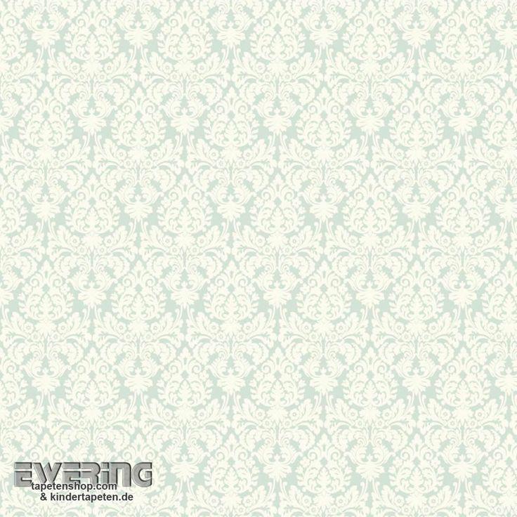 Rasch Textil Waverly Small Prints 23-327105 Ornament Tapete mint