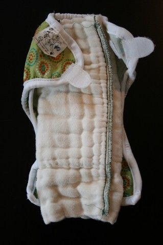 Fold diapers this way for newborns rather than buy newborn size