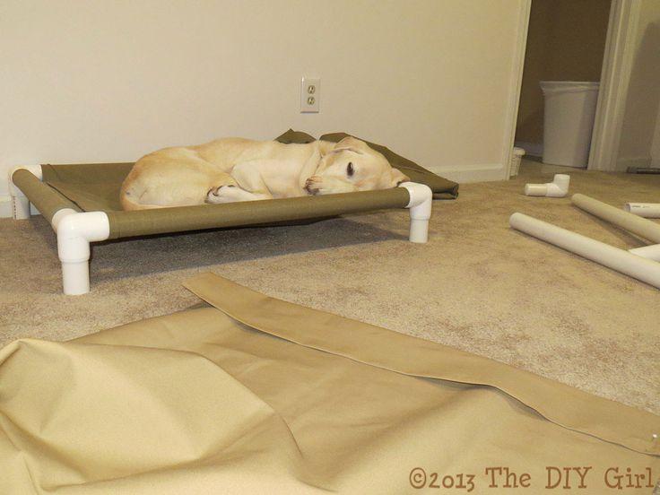 """cama de perro de """"campaña"""" con tuberías...                              …"""