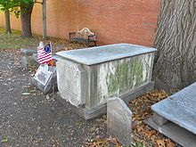 Benjamin Rush grave site, signer of Declaration of Independence~~Christ Church Burial Ground, Philadelphia, PA, US