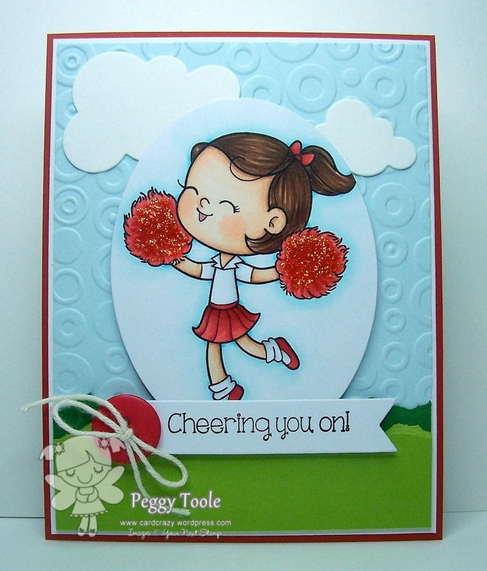 Cheering you on!  : Your Next Stamp
