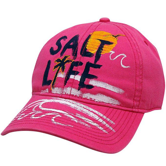 salt life accessories ocean view ladies cap baseball hat