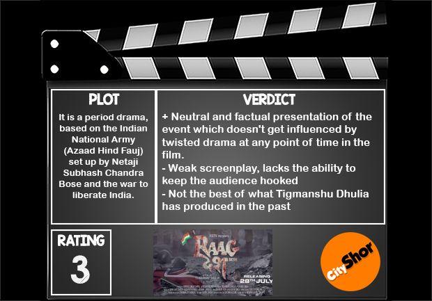Movie Review - Raag Desh #MovieReview #Bollywood #Entertainment #RaagDesh #CityShorBangalore