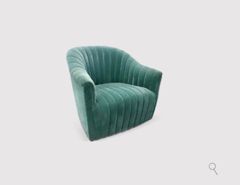 The soft lines and curves of the Mia chair give her the gentle yet mesmerizing radiance of a precious newborn or delicately blooming flower | Discover more bedroom chairs: http://masterbedroomideas.eu/