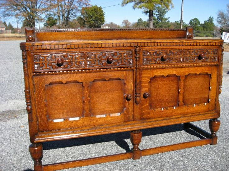 65 best images about old buffets sideboards on pinterest queen anne southern style and tigers. Black Bedroom Furniture Sets. Home Design Ideas