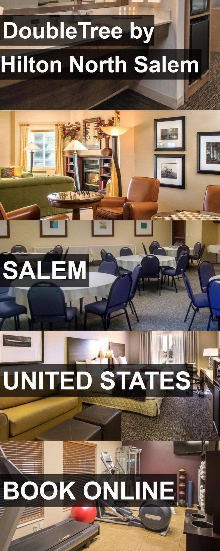 Hotel DoubleTree by Hilton North Salem in Salem, United States. For more information, photos, reviews and best prices please follow the link. #UnitedStates #Salem #travel #vacation #hotel