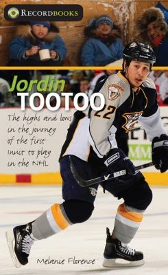 Jordin Tootoo by Melanie Florence: A biography of Jordin Tootoo, the first Inuit player in the National Hockey League, discussing his life growing up in a small town near the Arctic Circle, his early interest in hockey, and the challenges he faced in realizing his dream of playing professionally. --Destiny Quest