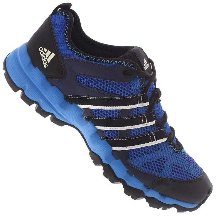 Tênis Adidas Sports Hiker Adventure Masculino Preto / Azul