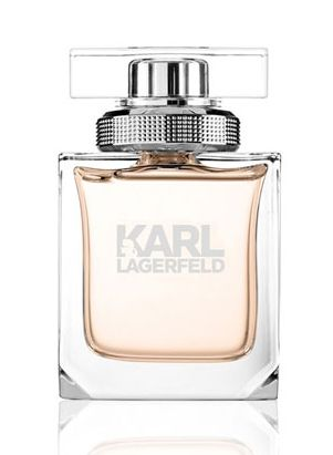 JUST ARRIVED: KARL LAGERFELD FOR HER.  A fresh scent of citrus, fruit and flowers on a woody-musky mase. It opens with accords of lemon and peach, with a floral heart of magnolia, rose and frangipani. All of this is soothed by the soft base of amber wood and musk.   Now Available From Our In Store Fine Fragrance Counter.