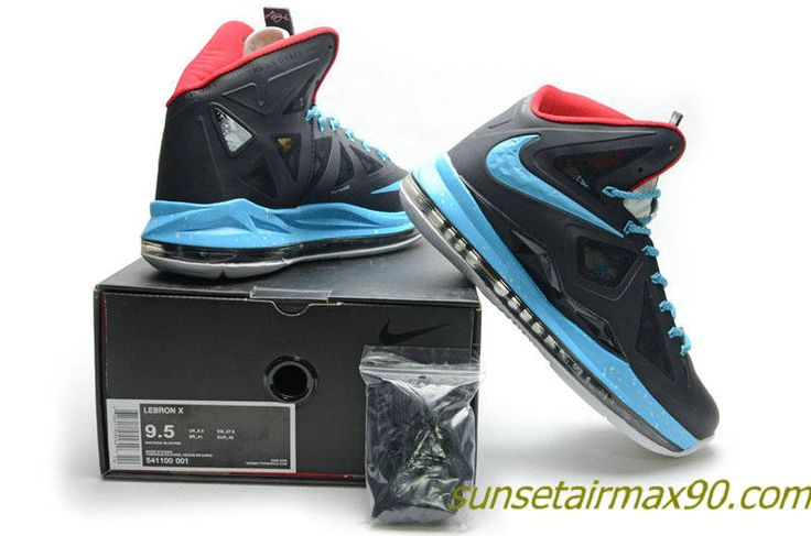 Nike Lebron 10 Black/Blue/White, cheap Nike Lebron If you want to look Nike  Lebron 10 Black/Blue/White, you can view the Nike Lebron categories, ...