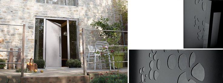 Porte d 'entrée Aluminium Bel 'm Nos produits Menuisier-serrurier pour vente et rénovation à Marseille - Pose Concept