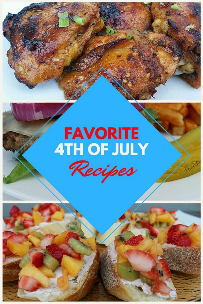 4th of july entree recipes