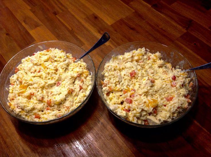 Curry - Reissalat mit Hühnchen, ein schmackhaftes Rezept aus der Kategorie Geflügel. Bewertungen: 45. Durchschnitt: Ø 4,2.