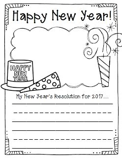 The 2 Teaching Divas: Happy New Year! Updated for 2017!