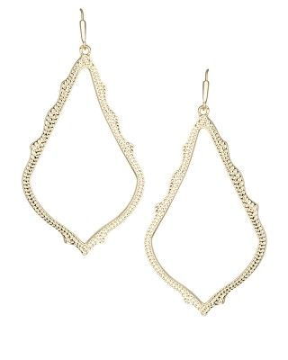 Sophee Drop Earrings in Gold - Kendra Scott Jewelry. Coming soon!