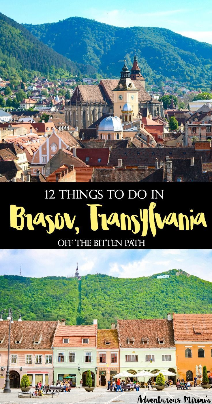 Brasov, Romania is a lively town with a vibrant atmosphere, in fact many Romanians come here for the weekends to relax. There are lots of things to do in Brasov, and in this article you'll find the 12 most popular sites in town, including tips for day trips and a map. Here's why you should visit Transylvania.