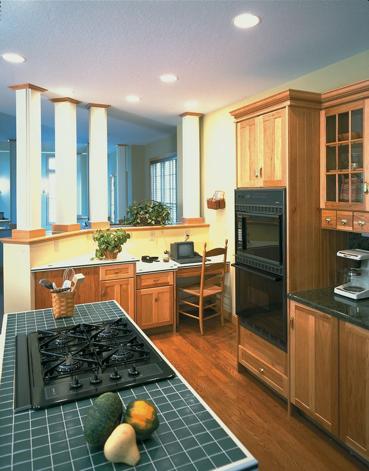 499 Best Images About Kitchen Floor Plans On Pinterest | Country