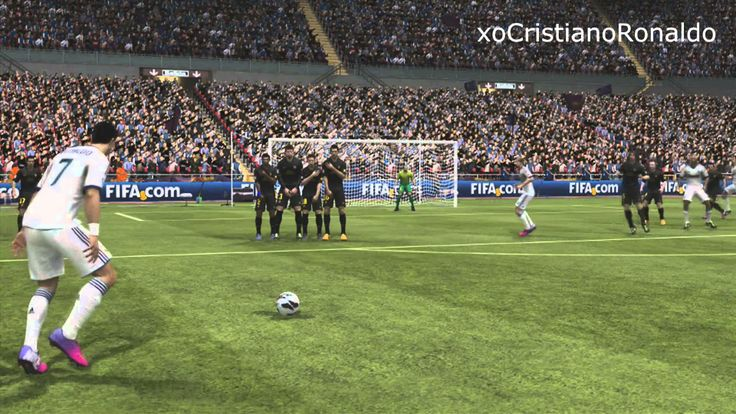 4.) Image (2) looks very realistic, but it is not. This image is from a soccer game called Fifa 14. In this image we see, Cristiano Ronaldo celebrating after scoring a goal. Once again he is gesturing to calm down, but this is in a virtual reality. This video game is remediating televisions broadcasting of soccer through a video game, which in is a virtual reality. The soccer video game essentially refashion television because instead of just watching a soccer match you play the soccer…