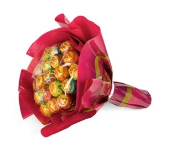 Lutscher-Blumenstrauss