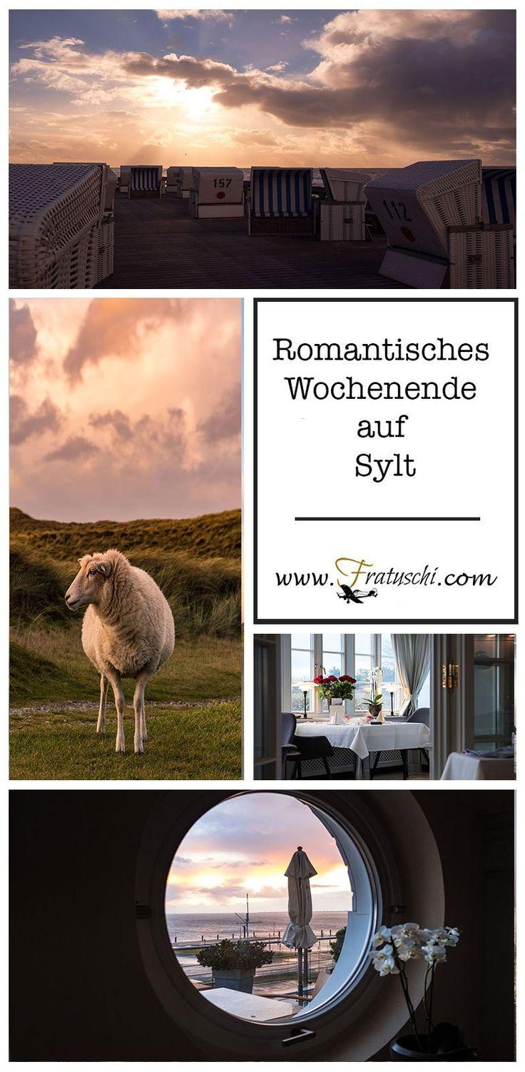 Ein Wochenende auf Sylt im romantischen Fährhaus. Wie wäre es mit einem romantischen Wochenende auf Sylt? Die Seele baumeln lassen, kuscheln, gut essen gehen, verwöhnen lassen, vielleicht ein bisschen Wellness aber in jedem Fall mit Weitblick über das Meer. #enthält_Werbung  #Sylt #Hoteltipp #Reisetipp #Deutschland #Nordsee #Romantisch