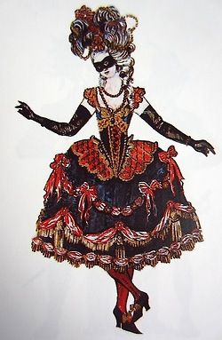 Masquerade - Rockoko Lady (worn by female singer)