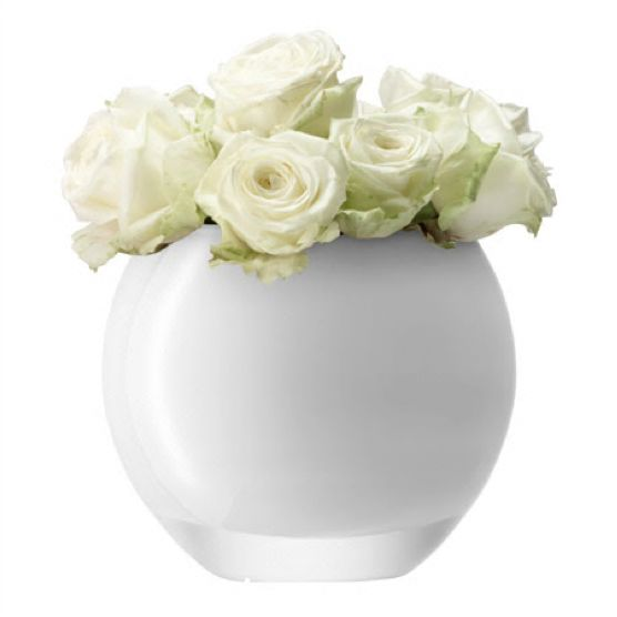 2 New White Round Vase Home Idea
