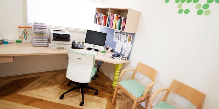 Doctors surgery, interior design. Apple tree medical. Cairns