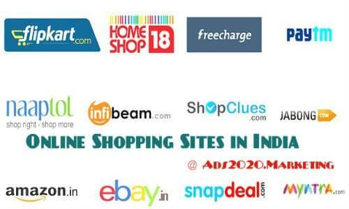 50 Best Indian Online Shopping Sites  List of Top eCommerce