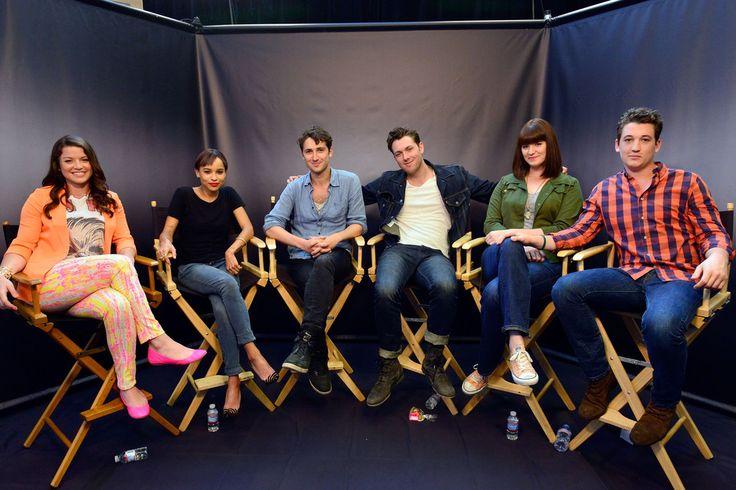 The Divergent Movie cast at Comic-Con 2013 - DIVERGENT Fansite