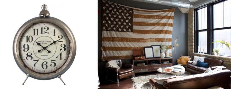 1: interiordesigninspirations.com 2: zegar stojący DESIGN STORY