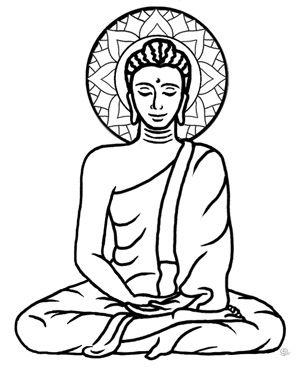 Buddha Clipart .