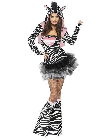 Fever Zebra with Tutu - Angels Fancy Dress Costumes
