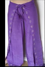 Resultado de imagen para falda pantalon hindu