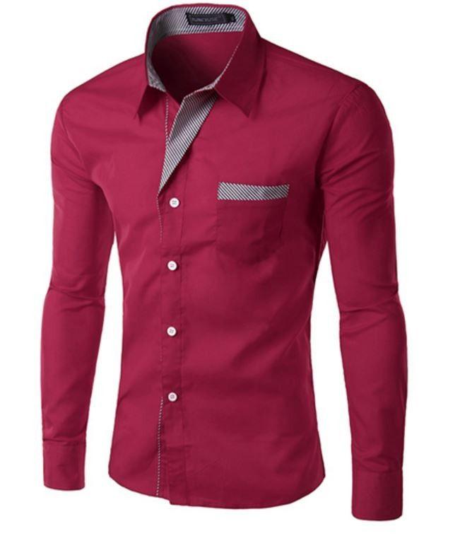 Elegantní pánská slim košile bordová – Velikost L Na tento produkt se vztahuje nejen zajímavá sleva, ale také poštovné zdarma! Využij této výhodné nabídky a ušetři na poštovném, stejně jako to udělalo již velké množství …