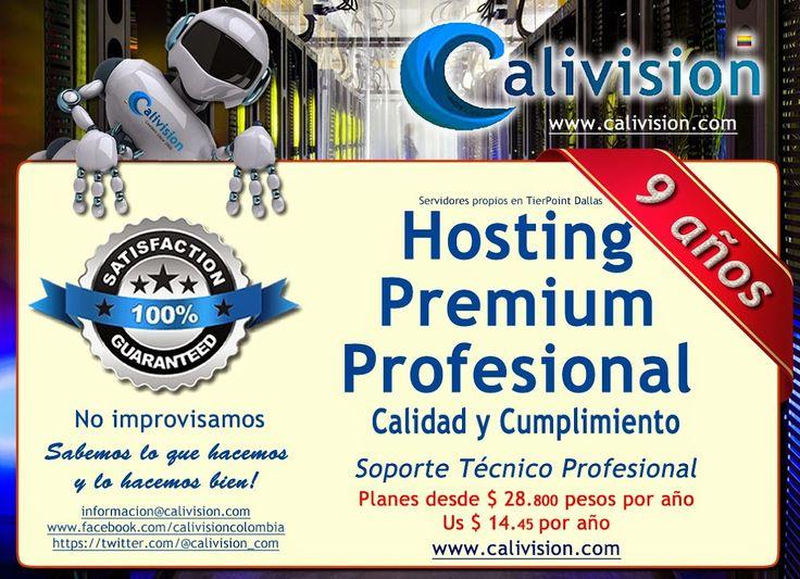 Hosting Premium calivision.com | Calivision Blog