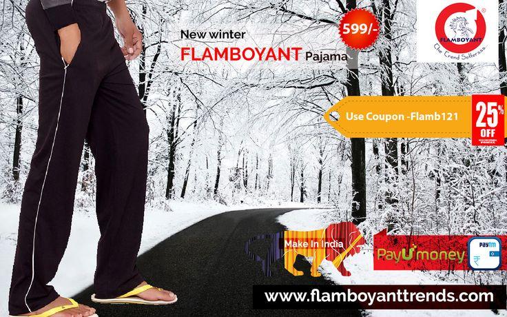 Buy new winter pajama at #flamboyant Apply Coupon Code - Flamb121 ( 25% Discount) #buywinterpajama #MakeInIndia