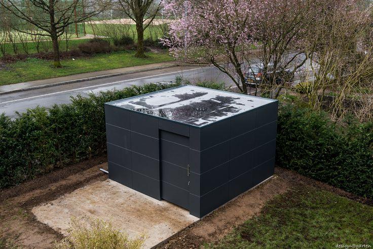 Design Gartenhaus at_gart by design@garten - Augsburg, Germany Projekt in Luxemburg