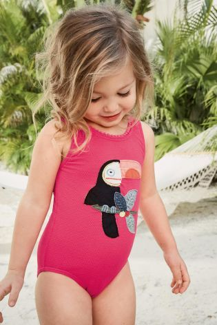 Kopen Pink Toucan Swimsuit (3 mnd-6 jr) from Next Netherlands