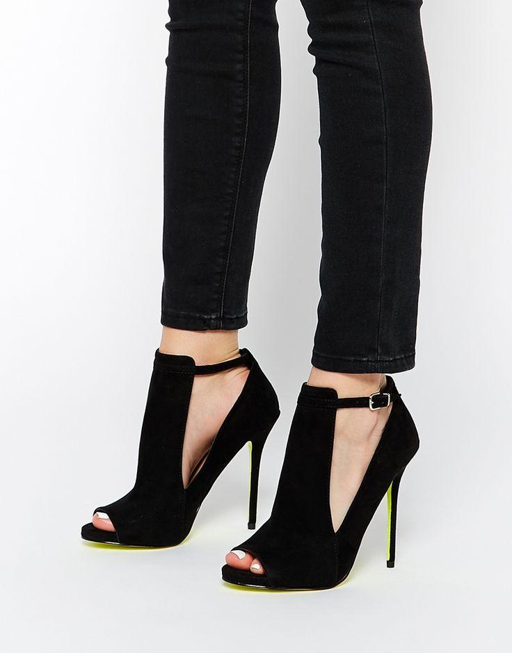 Image 1 - Carvela - Glance - Chaussures à talons et découpes - Noir
