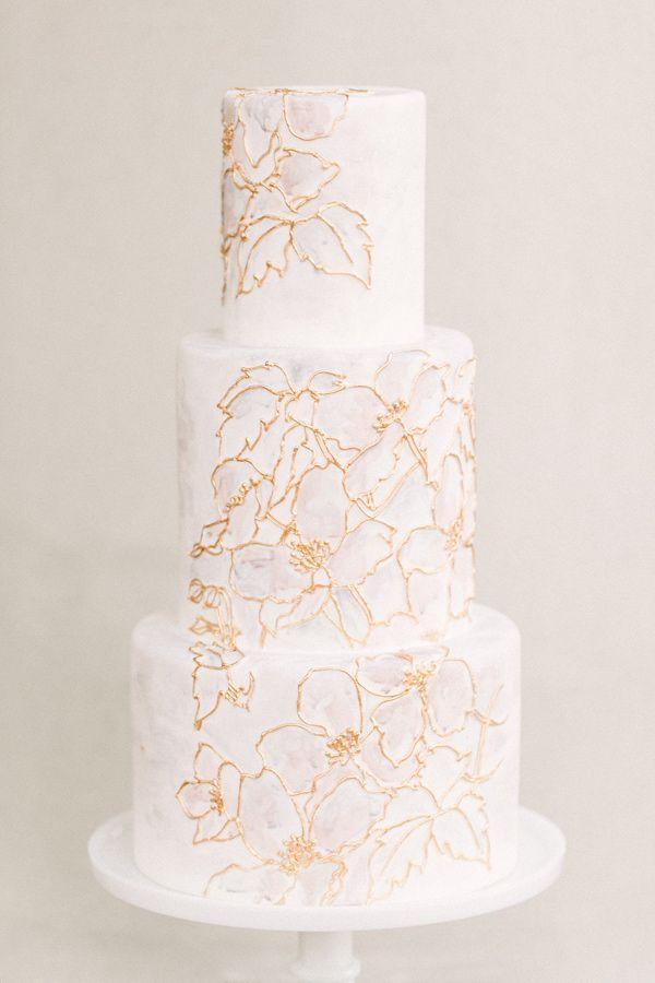 White Wedding Cake - Biały Tort Weselny