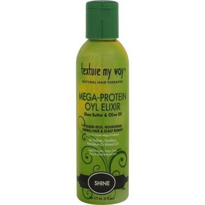 Texture My Way Mega-Protein Oyl Elixir 6 oz $4.95   Visit www.BarberSalon.com One stop shopping for Professional Barber Supplies, Salon Supplies, Hair & Wigs, Professional Product. GUARANTEE LOW PRICES!!! #barbersupply #barbersupplies #salonsupply #salonsupplies #beautysupply #beautysupplies #barber #salon #hair #wig #deals #sales #TextureMyWay #Mega #Protein #Oyl #Elixir