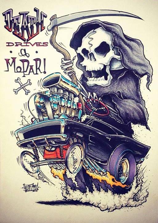 DEATH DRIVES a MoPaR