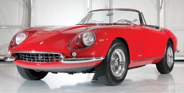 Obelisco Classic Car Club Cali Colombia: Historia del Ferrari 275 GTB/4 Sport N.A.R.T. Spyd...
