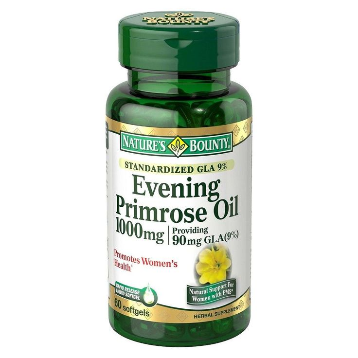 Nature's Bounty Evening Primrose Oil 1000 mg Softgels - 60 Count