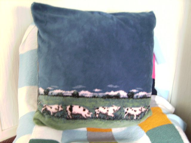 Pig Cushion (sewing) - OK, so I may have gone 'slightly' OTT on this one!