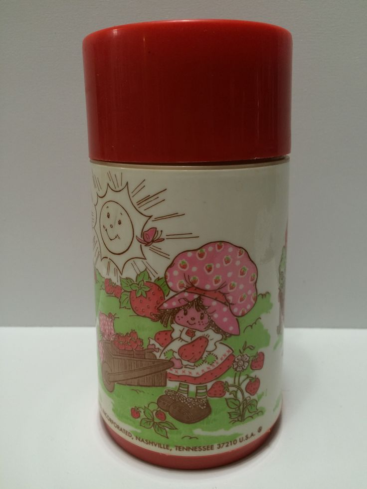 1980 Aladdin Lunch Box Thermos - Strawberry Shortcake This item is NOT in Mint Condition and is in no way being described as Mint or even Near Mint. Our toys have not always lead the perfect life, nor